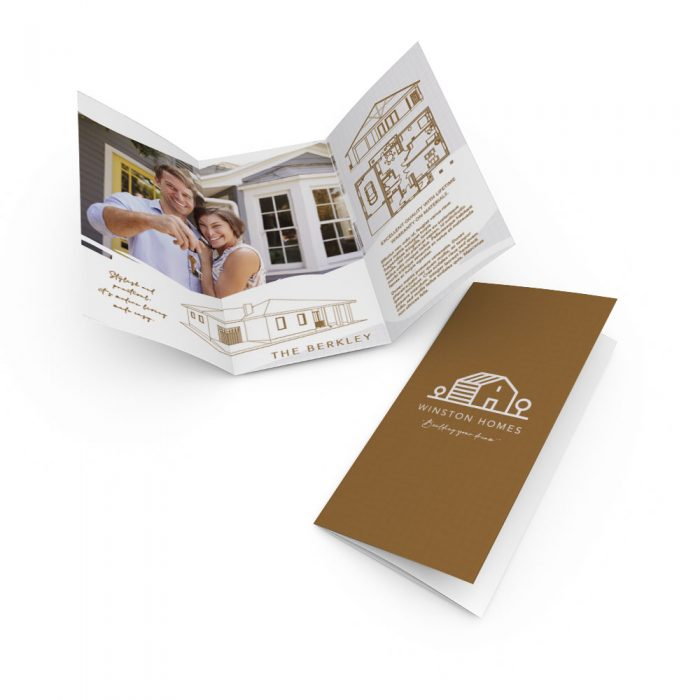 DL Trifold Brochures classic