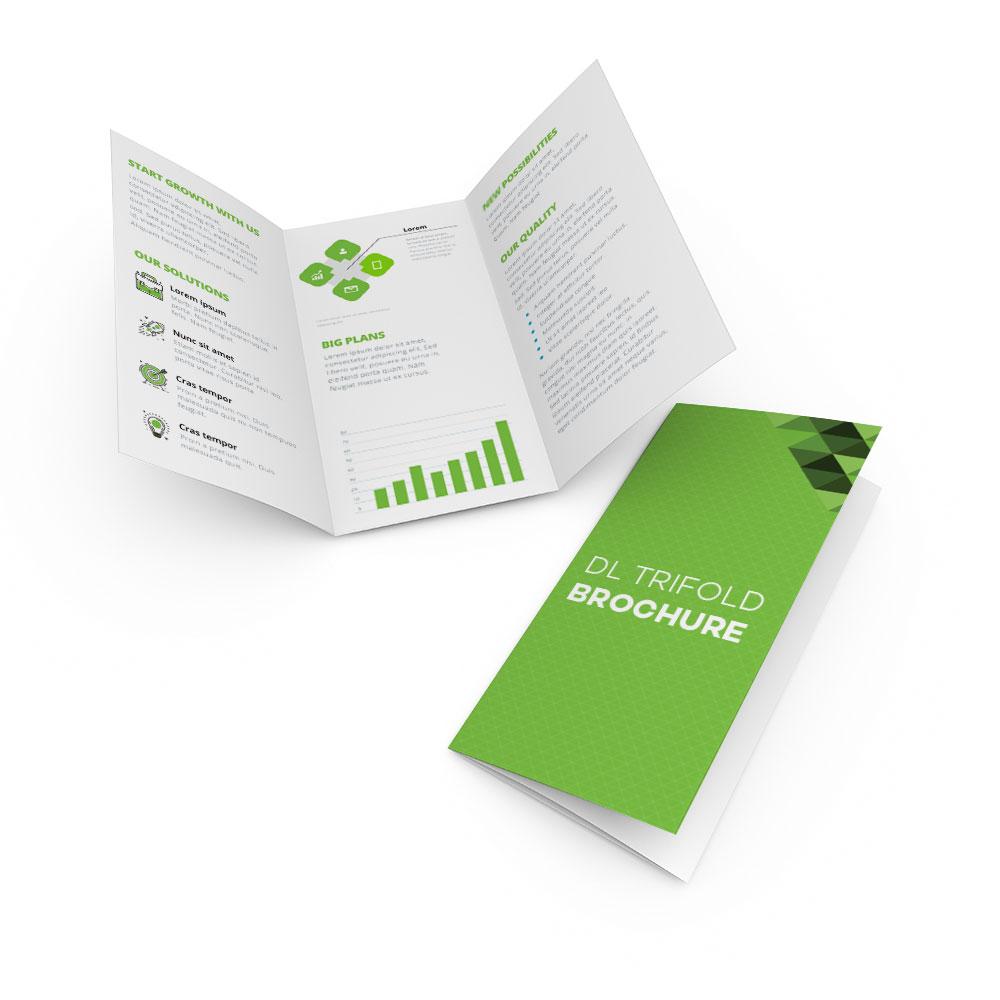 DL Trifold Brochures