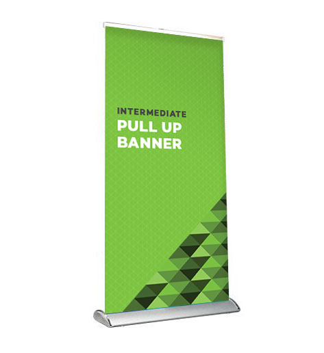 INTERMEDIATE SS PULL UP BANNER
