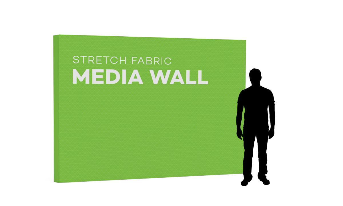 Stretch Fabric Media Walls b