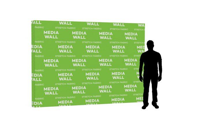 Stretch Fabric Media Walls 2